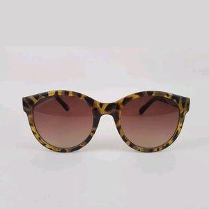 Fossil  Sunglasses Cheetah Tortoise Retro Plastic